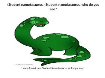 Dinosaur, Dinosaur, Who Do You See?