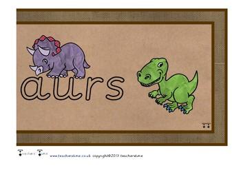 Dinosaur Display Banner