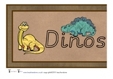 Dinosaur Display Banner