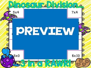 Dinosaur Division (Multiplication and Division Facts)