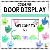 Dinosaur Door Display EDITABLE