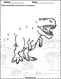 Dinosaur Dot to Dot | #1-10