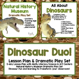 Dinosaur Duo!  5-Day Lesson Plans & Natural History Museum