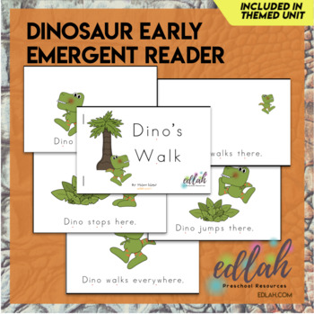 Dinosaur Early Emergent Reader