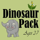 Dinosaur Early Learning Pack