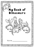 Dinosaur Early Skills Book