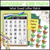 Dinosaur Egg Hunt Letter / Sound Matching Activity