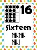 Dinosaur Egg Number Posters {Common Core Math}