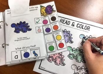 Dinosaur Eggs: An interactive & adaptive book