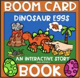 Dinosaur Eggs BOOM Book (Boom Card Activity)  Distance Learning