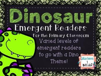 Dinosaur Emergent Readers