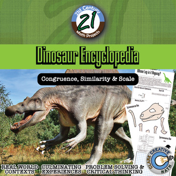 Dinosaur Encyclopedia -- Scale, Proportion and Similarity STEM Project