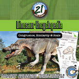 Dinosaur Encyclopedia: Scale, Proportion and Similarity Edition -- STEM Project