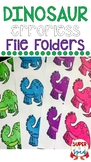 Dinosaur Errorless File Folders for Special Education
