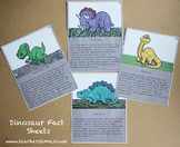 Dinosaur Fact Sheets