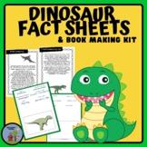 Dinosaur Fact Sheets and Book Making Kit