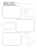 Dinosaur Facts Graphic Organizer