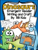 Dinosaur Facts and Emergent Reader / Dinosaur Craft / Kind