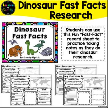 Dinosaur Fast Facts