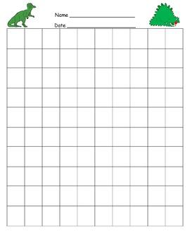 Dinosaur Fill-in Hundreds Chart