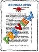 Dinosaur Fluency Close Reading Passages & Comprehension