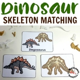 Dinosaur Fossil Matching: for Montessori or Science Centers