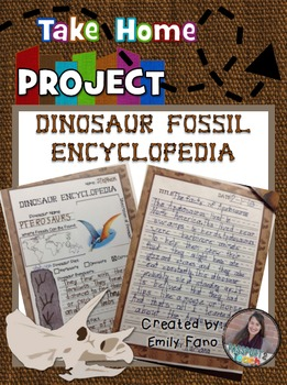Dinosaur Fossil Take Home Project