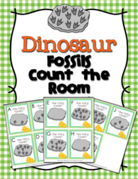 Dinosaur Fossils Count the Room