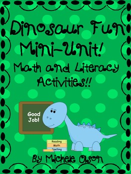 Dinosaur Fun!  A Mini-Unit