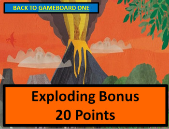 Dinosaur PowerPoint / Smartboard Game Template