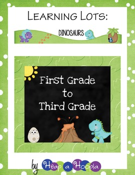 Dinosaur Games and Activities for First, Second and Third grades