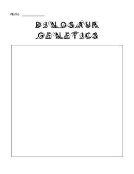 Dinosaur Genetics