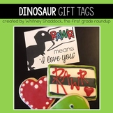 Gift Tags and Valentine Cards: Dinosaurs