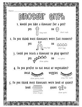 Dinosaur Glyph