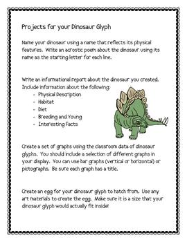 Dinosaur Glyph Project