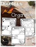 Dinosaur Character Traits Graphic Organizer & Story Retell Graphic Organizers