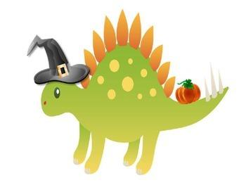 Dinosaur Halloween Decor