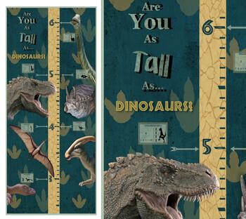 Dinosaur Height Chart