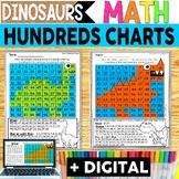 Dinosaur Hundreds Chart Hidden Picture