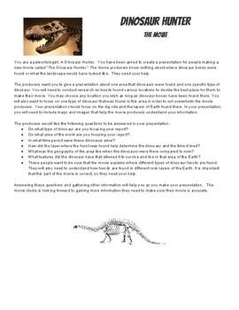 Dinosaur Hunter PBL