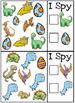 Dinosaur I Spy Cards