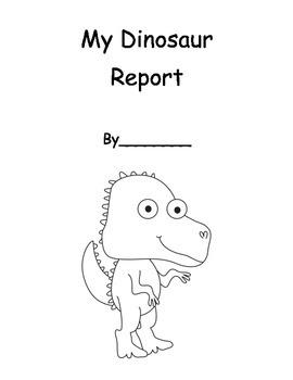 Dinosaur Informational Report