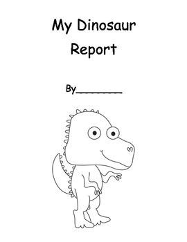 Dinosaur Informational Report