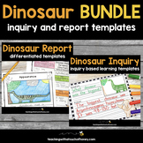 Dinosaur Inquiry and Report Bundle
