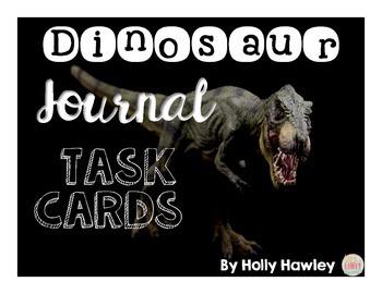 Dinosaur Journal Task Cards