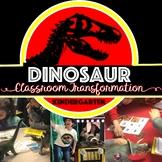 Dinosaur Jurassic Park Classroom Transformation and Escape Room