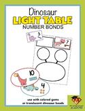 Dinosaur LIGHT TABLE Number Bonds