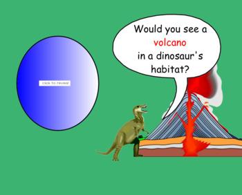 Dinosaur Lang Arts & Science Unit SmartBoard Lessons Primary Grades