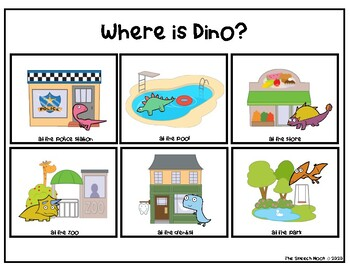 Dinosaur Language Freebie