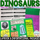 Dinosaurs Lapbook & Passages | Dinosaur Activity